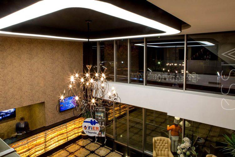 kayseri fier otel aydınlatma